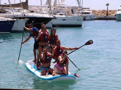 Alquilar material de paddle surf XL en Mallorca 1h