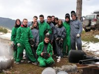 Equipo de paintball en Belorado