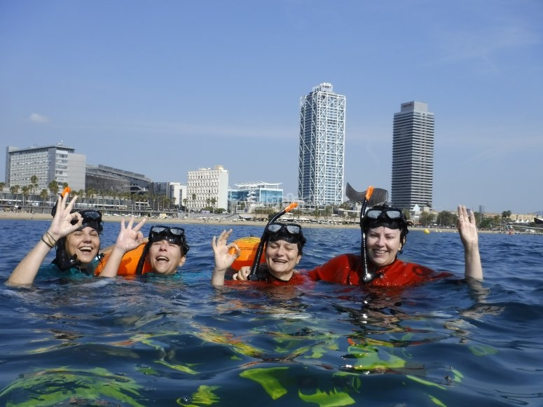 Barcelona snorkel