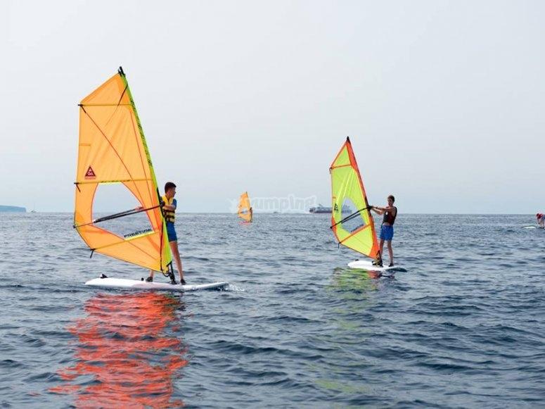 Windsurf en Mallorca
