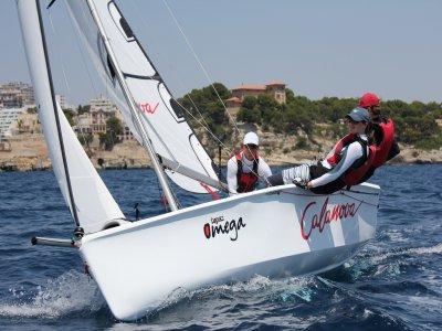 马略卡岛3个座位的帆船出租6个小时