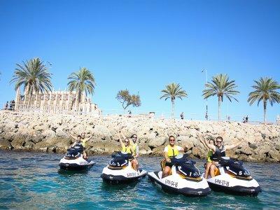 Alquiler de moto de agua con licencia en Palma 2 h