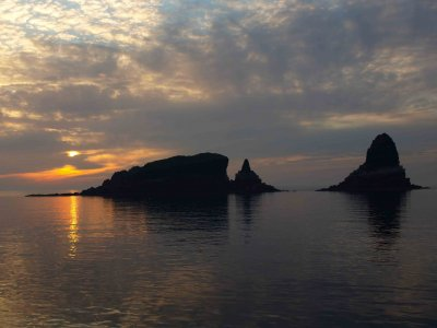 Travesía en barco con patrón por Islas Columbretes