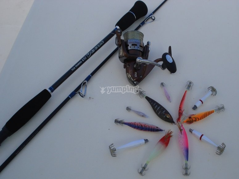 Material para pescar