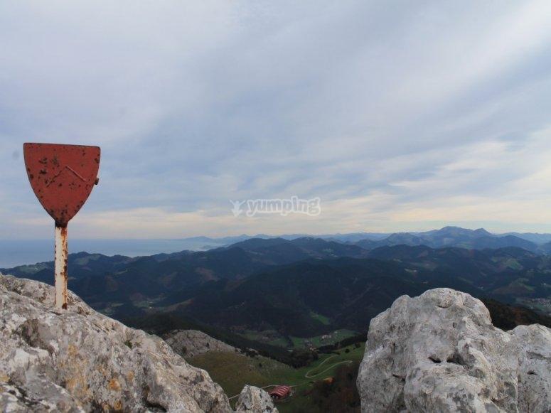 Ruta por el monte