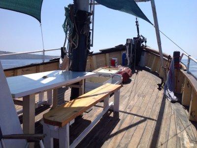 Excursión en barco en Mallorca comida y bebida 7h