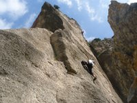 Salida de escalada en Vizcaya cena y alojamiento
