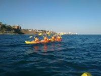 Canoa con gli amici