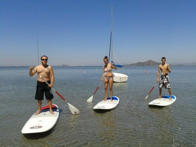 Alquilar material de stand up paddle en Murcia 1h