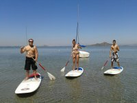 Rent stand up paddle surfing material in Murcia 1h