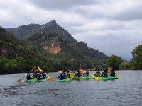 Piragüismo en el Ebro para colegios 3 horas