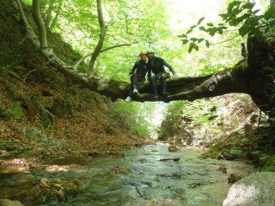 Salida barranco dels Rentadors en Viladrau