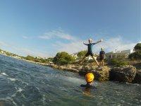 Coasteering on the Coast of Girona, Photos + Drink