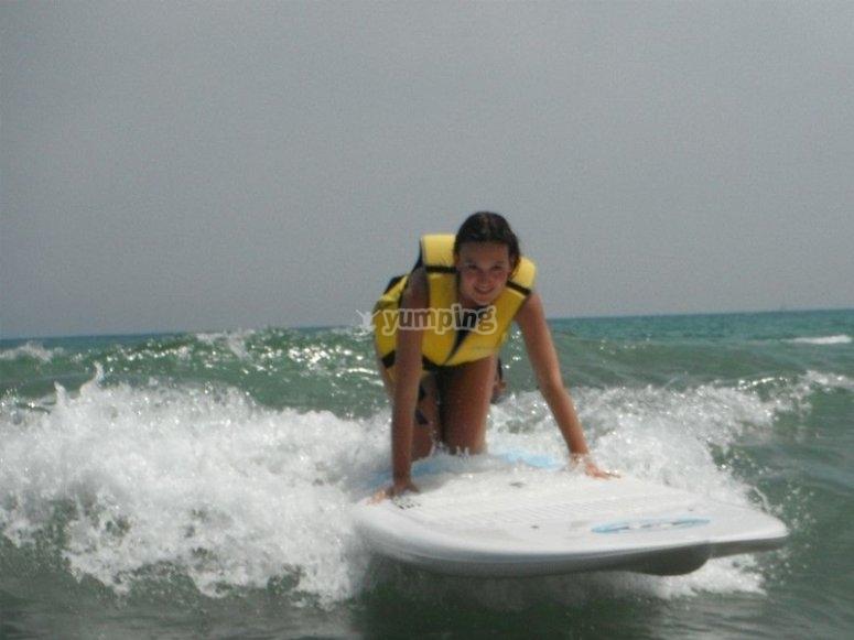 Surf school en Gandía