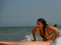 Aprender surf en Gandía