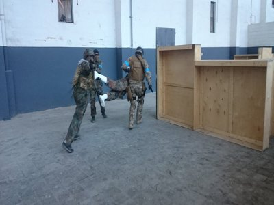 Airsoft match for groups at Barcelona, 3h