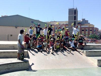 Campamento de deportes de skate Barcelona 7 días