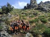 Approach to Somosierra ravine