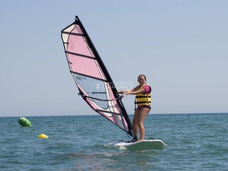Inizia il windsurf