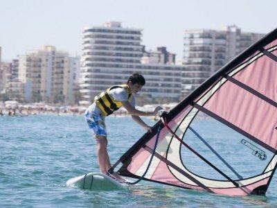 Curso intensivo windsurf en Gandía fin de semana