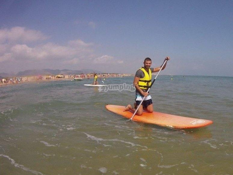 Paddle surf en Gandia