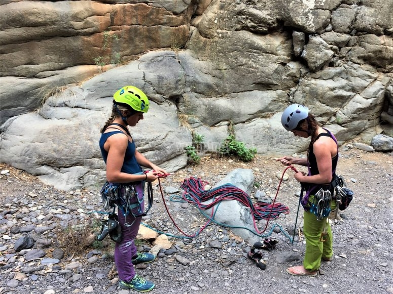 Climbing workshop