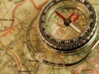 Mapa y brujula