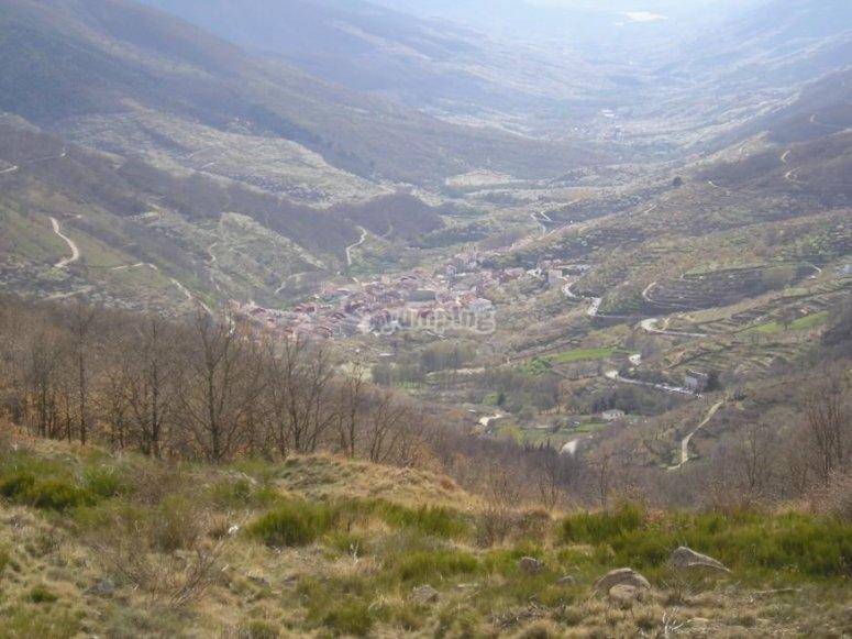 Barranco en el Valle del Jerte