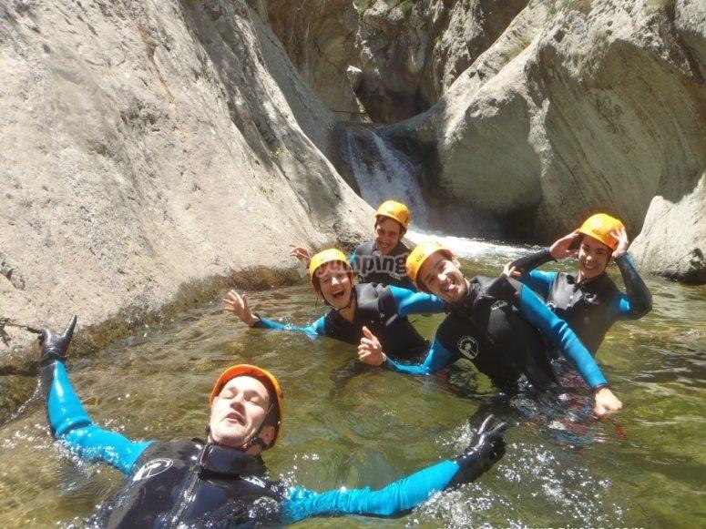 Canyoning in Girona