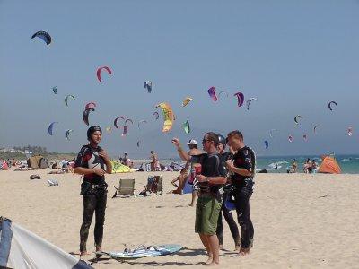 塔里法私人风筝冲浪课程1小时