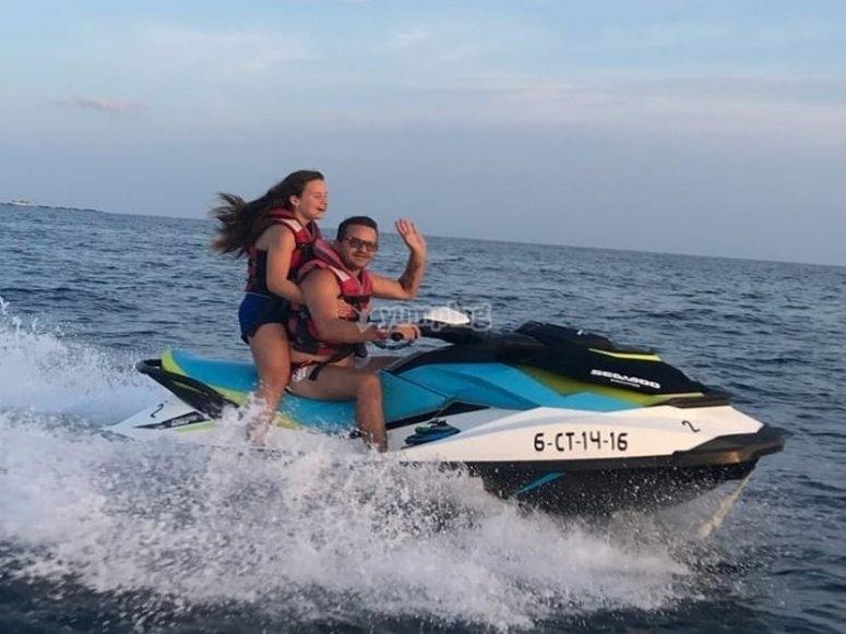 Jet Ski biplaza Benidorm