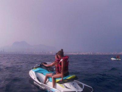 Ruta guiada en moto acuática por la Costa Blanca