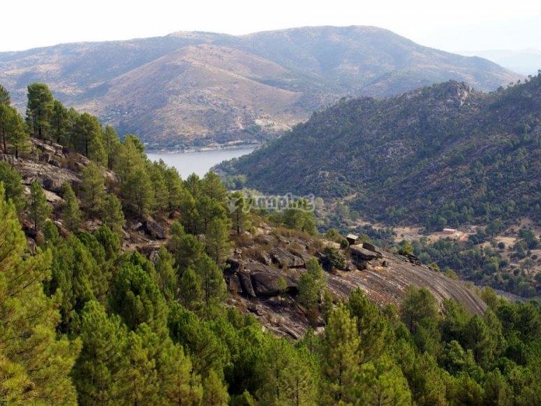 Vistas del Valle de Iruelas