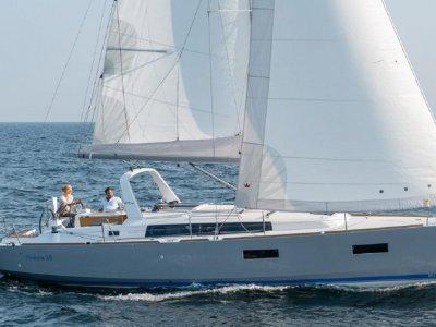在巴塞罗那租用帆船Oceanis 38平均温度