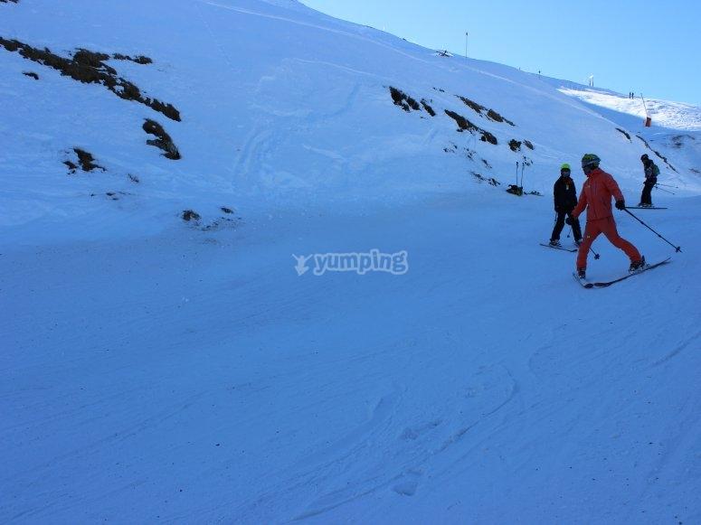 Clases esquí en Baqueira Beret