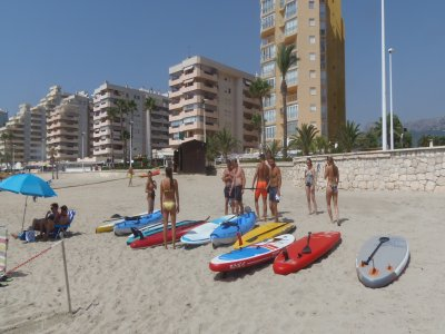 90-Min Stand Up Paddle Baptism in Calpe