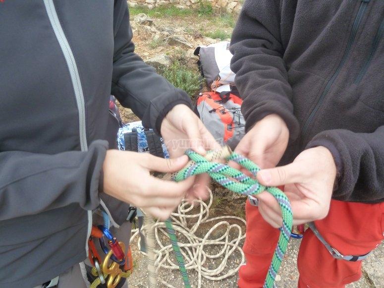 Nudos de las cuerdas