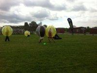 太空球材料的塑料球公园