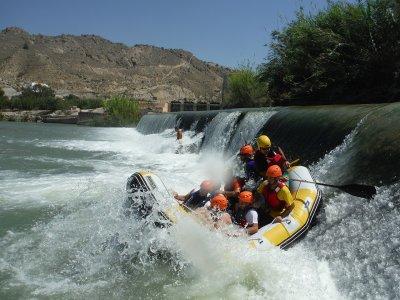 Rafting Valle de Ricote con pranzo e foto