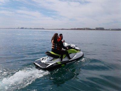 Moto de agua biplaza Valencia para 2