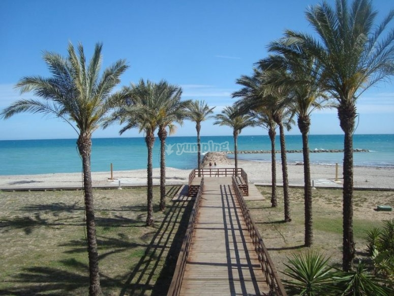 Playa en Benicassim