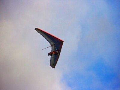 在Cabañasdela Sagra滑翔飞行15-30分钟
