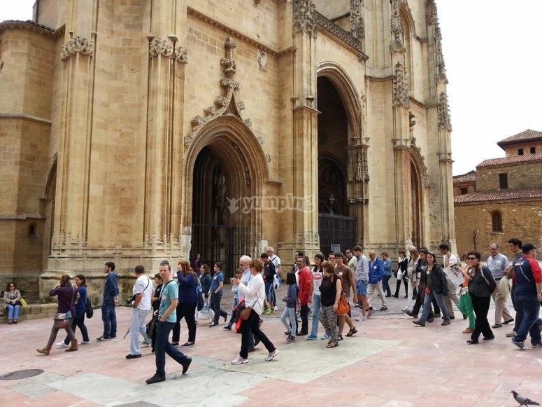 Puertas de entrada a la catedral