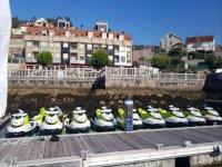 Motos de agua en Vilanova de Arousa
