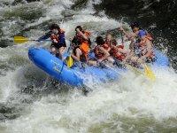Rafting con la familia