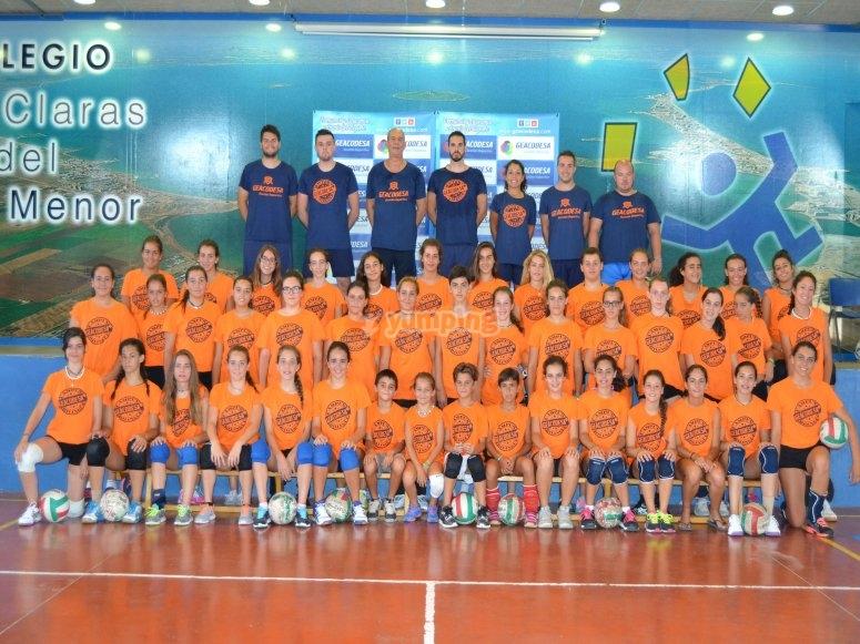 Padel tennis camp