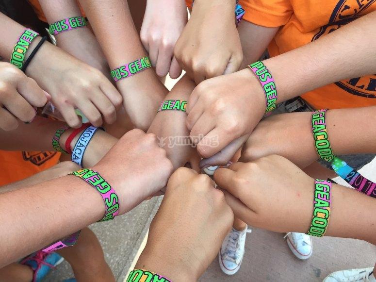 Camp bracelet