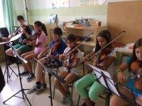 Campamento formación musical en El Burgo de Osma