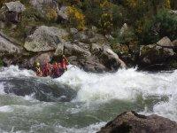 Rafting en el Ulla