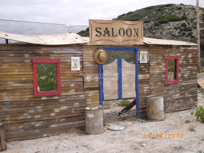 Old West stage